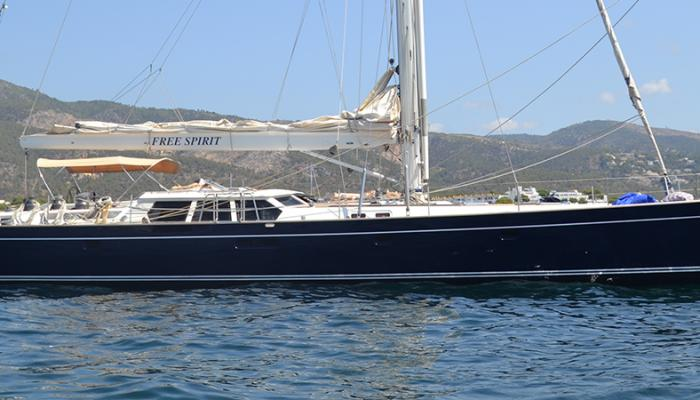 Oyster 80 Heritage Yacht