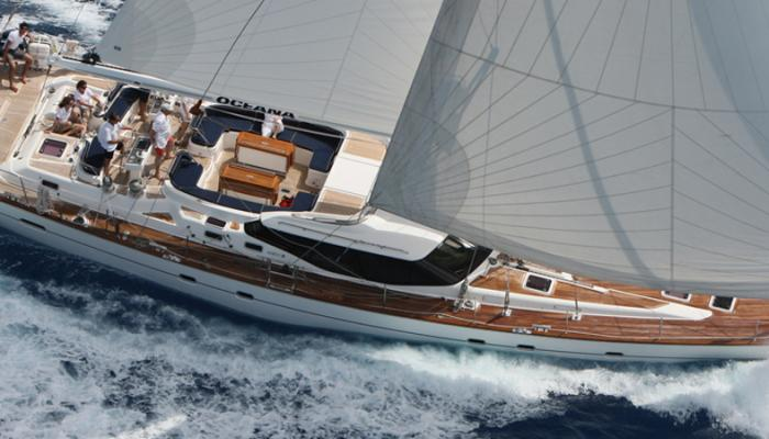 Oyster 82 Heritage Yacht