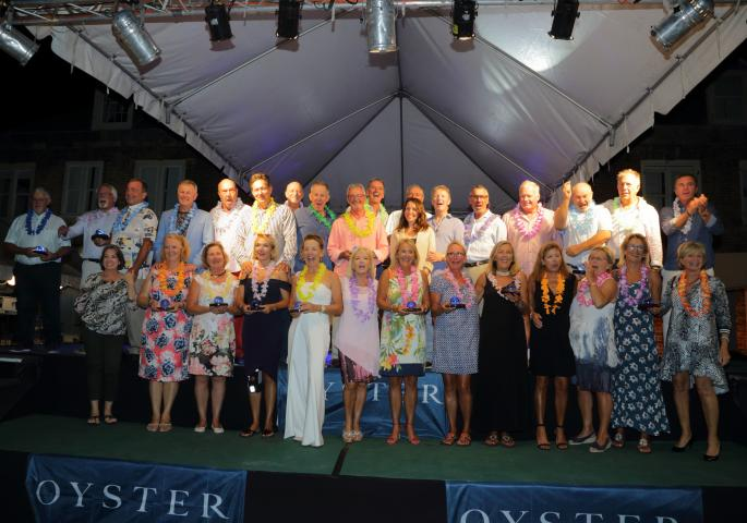 Oyster World Rally 2017-2019 Attendees