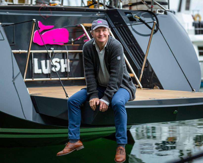 Richard Hadid on Oyster 885 Luxury Sailboat Lush