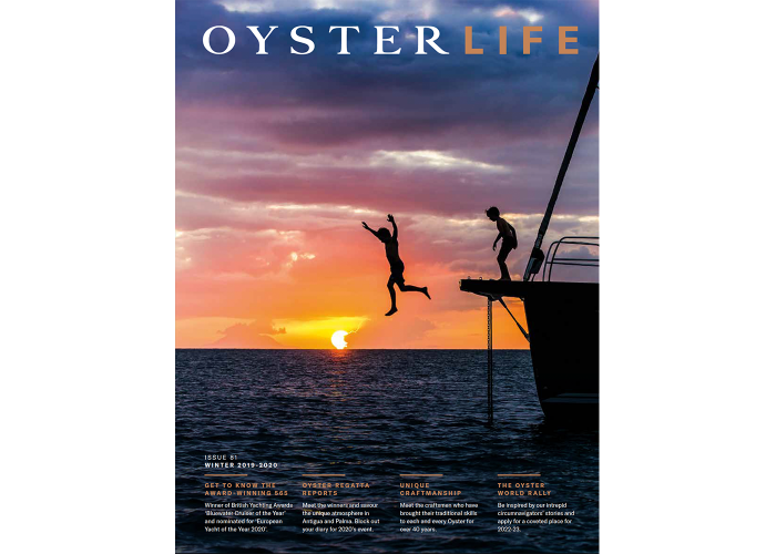 Oyster Magazine 81 Cover 1400